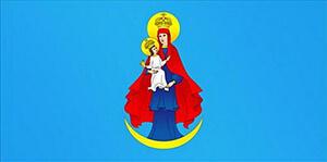 Флаг городского поселка Порозово